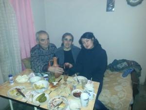 Tina und Tamas Wardsia