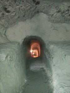 In den Höhlen von Wardsia