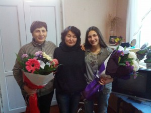 Sveta, Aika und Mariam