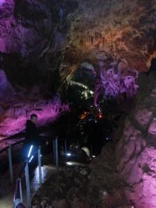 Prometheus Höhle Georgien große Halle
