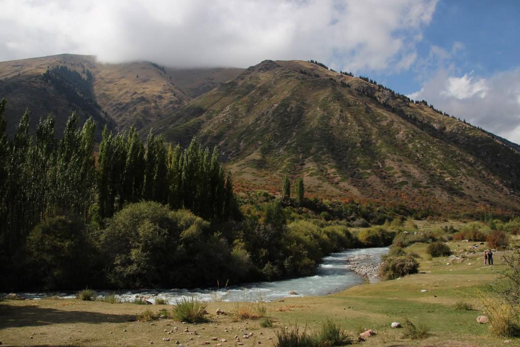 Herbst in Kirgistan