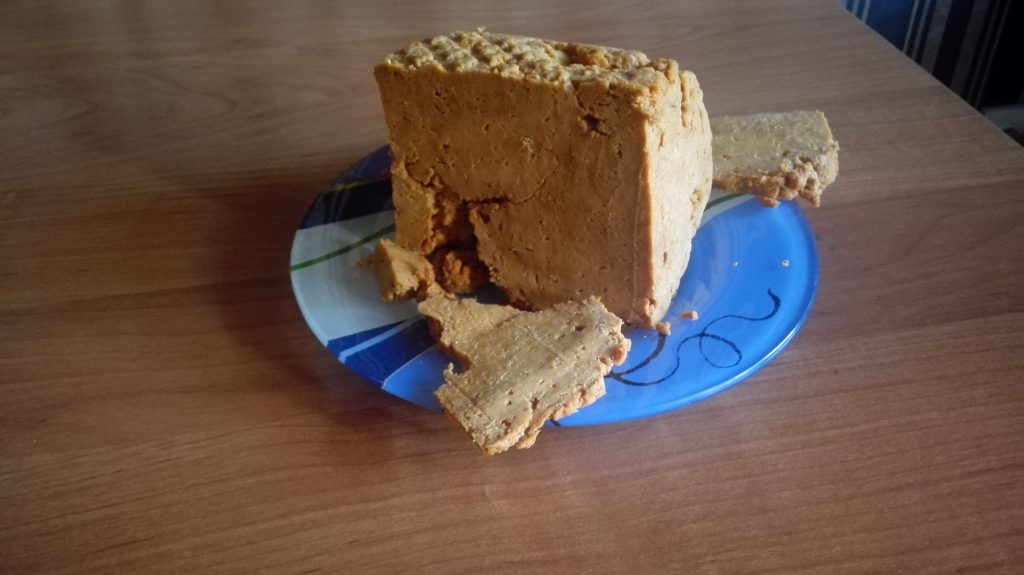 Irimschik - kasachischer süßer Käse