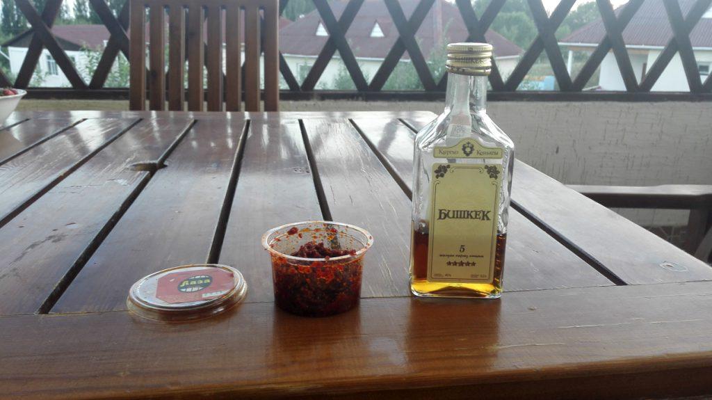 Lasa und Cognac -  das beste Mittel gegen Durchfall
