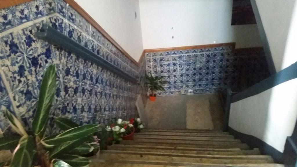 Flur mit Azulejos