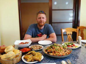 Plov in Kasachstan mit leckerem Pferdefleisch