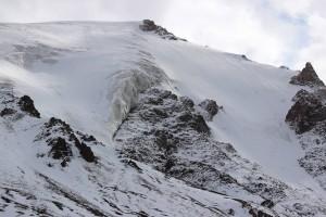 Am Gletscher auf ca. 4500 Meter