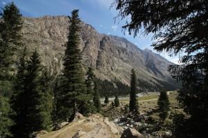 Gibergslandschaft Kirgistan