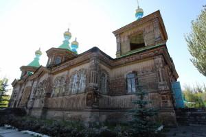 Holzkirche in Karakol