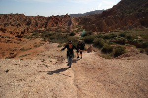 Wandern beim Canyon
